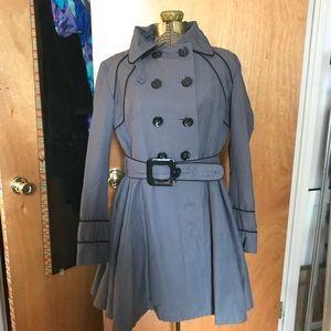 Sonia & Kyo Gray trench coat